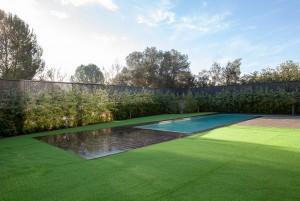 unifamiliar obra nova piscina topazi